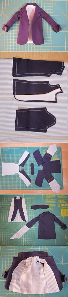 Jacket sewing pattern