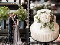 NYC Rustic Modern Wedding Inspiration | Best Wedding Blog - Wedding Fashion & Inspiration | Grey Likes Weddings