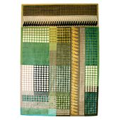 Margo Selby - Green Patchwork Rug
