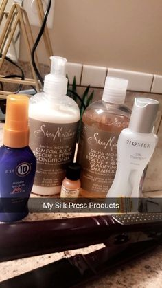 Silk Press Products – Best Beauty images in 2019 Natural Hair Care Tips, Curly Hair Tips, Curly Hair Care, Natural Hair Journey, Curly Hair Styles, Natural Hair Styles, 4c Hair, Pressed Natural Hair, Nourishing Shampoo