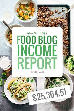March Traffic and Income Report | pinchofyum.com
