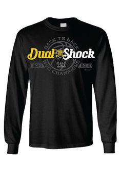 Wichita State Shockers 2015 MVC Champions Long Sleeve Tee http://www.rallyhouse.com/wichita-state-shockers-mens-black-dual-shock-long-sleeve-t-shirt-8090371?utm_source=pinterest&utm_medium=social&utm_campaign=Pinterest-WSUShockers $27.99