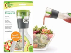 Delivers a precise, 2 TBSP serving of salad dressing every time. - genius!