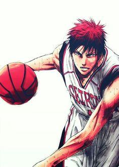 Kagami Taiga - Kuroko no Basket Kuroko No Basket, Anime Basket, Manga Anime, Anime Guys, Anime Art, Aomine Kuroko, Kagami Taiga, Kurokos Basketball, Animes Wallpapers