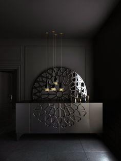 Trendy Home Decoration Interior Lamps Ideas Design Entrée, Lobby Design, Deco Design, Wall Design, House Design, Interior Design, Modern Interior, Colorful Furniture, Home Decor Furniture