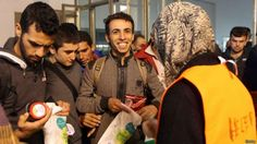 Here's How The Refugees Were Welcomed When They Reached Germany And Austria Welcome, Austria, Germany, Couple Photos, Couples, Headshot Photography, Europe, Couple Shots, Deutsch