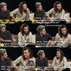 Find images and videos about one direction, niall horan and Harry Styles on We Heart It - the app to get lost in what you love. Niall Horan Imagines, One Direction Imagines, Harry Styles Imagines, One Direction Videos, One Direction Harry, One Direction Humor, One Direction Pictures, Direction Quotes, Louis Imagines
