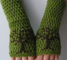 Perneras guantes Fingerless árbol de la vida brazo por LoveFuzz