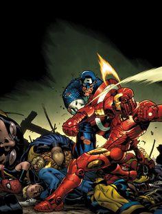 Marvel Civil War by Ed McGuinness