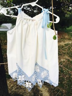 #VintagePillowCaseDresses