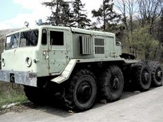 MAZ-537 towing vehicle