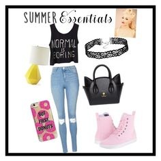 """""""Untitled #14"""" by averye111 ❤ liked on Polyvore featuring Topshop, Dr. Martens, Agent 18 and Serena & Lily"""