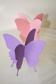 3D Butterfly Table Party Decoration by Foolishworkerbee on Etsy, $4.00