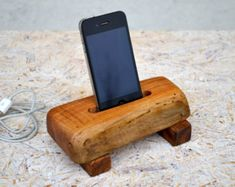 cool wooden phone docks - Google Search