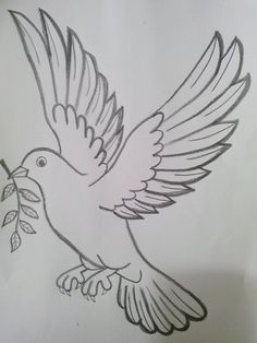 Tattoo Flash and Sketches by Metacharis on deviantART Art Drawings Sketches Simple, Girl Drawing Sketches, Art Drawings For Kids, Pencil Art Drawings, Bird Drawings, Cartoon Drawings, Cute Drawings, Animal Drawings, Colorful Drawings