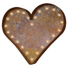 Heart Indoor/Outdoor Marquee Light