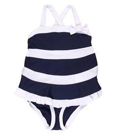 Seafolly Kids Yacht Club Singlet Bikini (Infant/Toddler/Little Kids)