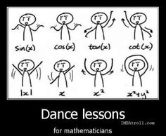 Dance lessons for mathematicians- This ones for you @fabmathteacher