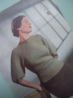 40's vintage sweater