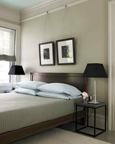 Guest Bedroom Overhaul Martha Stewart Wrought Iron Paint On Walls
