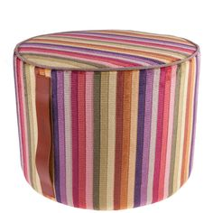 Occasional seating is so useful to have and this one is a gorgeous design. Mysore Pouf - 156 - 40x30cm from Missoni Home