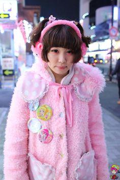 fairy-tips:A good idea for winter fairy kei ♥