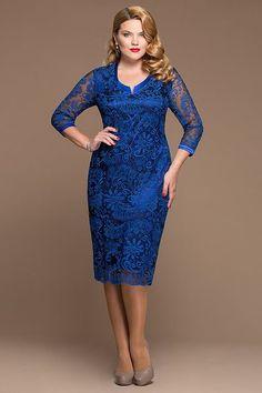 Максимум очарования: красивые платья для полных на Новый Год 2016