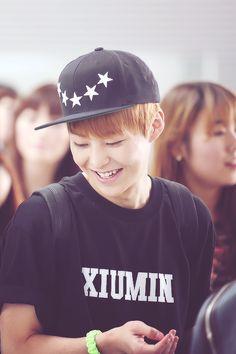 Exo Xiumin,,, i wanna a t-shirt like this one :))