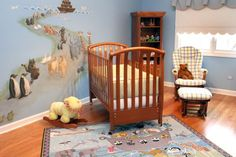 Noah's Ark Nursery. I <3 that murel :)