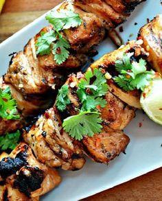 Low FODMAP Recipe and Gluten Free Recipe -Thai chicken skewers    http://www.ibssano.com/low_fodmap_recipe_thai_chicken_skewers.html