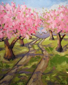 Kristina Wentzell Fine Art: series feature: orchards