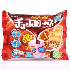 Popin' Cookin' Choco Koroone cornet DIY candy Kracie