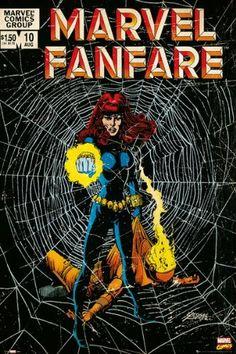 "Amazon.com - Marvel Fanfare - The Black Widow - Marvel Comics Poster (Comic Cover) (Size: 24"" x 36"")"