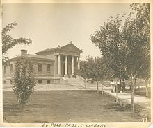 The original Carnegie building for the El Paso Public Library. Carnegie Library, Tx Usa, Historic Homes, History, Architecture, Building, Public, West Texas, Outdoor