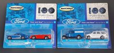 Matchbox Ford Motor Company 100 Years Then And Now Series 1 & 2 Diecast Lot of 2 #Matchbox #Various