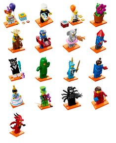 ONE FIGURE SUPPLIED Lego Minifigures /'Party/' Mystery Bag Series 18 71021 NEW