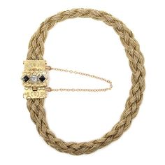 6e31f494cbf 14K Yellow Gold Diamond and Sapphire Bracelet Sapphire Bracelet, Emerald,  Emeralds