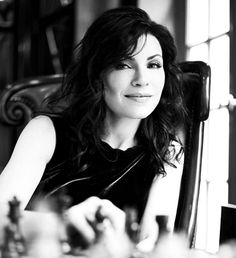 Julianna Margulies.   Trying to wipe all the drull off my chan :-)