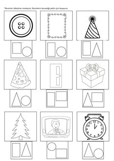 10 Non-Toy Gifts For Toddlers That Make Them Smarter – Joyfu Preschool Worksheets, Kindergarten Math, Classroom Activities, Preschool Activities, Geometry Worksheets, Birthday Charts, Shapes For Kids, Stem Science, How To Make Notes