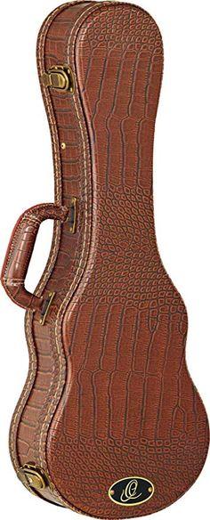 Ortega Guitars OUC-CC Concert Ukulele Hard Case with Dark Brown Velvet Padding Ukulele Case, Guitar Bag, Classical Guitar, Dark Brown, Guitars, Velvet, Concert, Bags, Stuff To Buy
