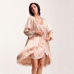 Silk robe