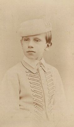 His Imperial and Royal Highness Crown Prince Rudolf of Austria (1858-1889) Only son of Empress Elisabeth (Sissi)