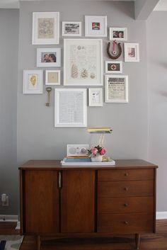 wall frames layout