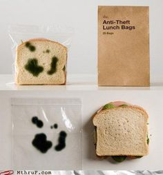 to keep the lunch thieves away!