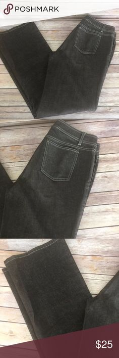 "Lafayette 148 Brown Boot Cut Jeans Size 8 Lafayette 148 brown jeans, Size 8 Some light fraying at hems.  Measurements: Waist: 32"" Rise: 10"" Inseam: 33""   Stock #1159 Lafayette 148 New York Jeans Boot Cut"