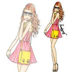 Estefany Baptista | Fashion Blog: Croquis