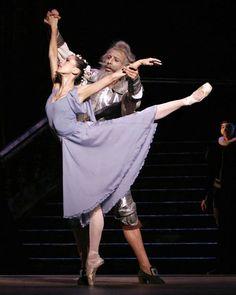 ✯ Suzanne Farrell and George Balanchine inDon Quixote ✯ 2004 Dom Naschokina Art Gallery
