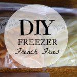 DIY Freezer Fries