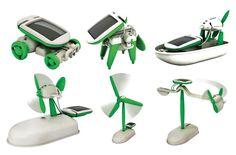 OWI 6 In 1 Solar Kit - beginner construction toys | Edmund Scientific