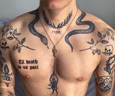 Tattoos Torso, Stomach Tattoos, Dope Tattoos, Badass Tattoos, Body Art Tattoos, New Tattoos, Tattoos For Guys, Sleeve Tattoos, Tatoos